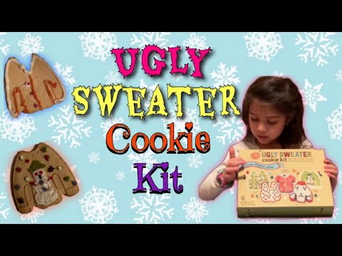 Ugly Sweater Cookie Kit Kay Kay Toy World Youtube