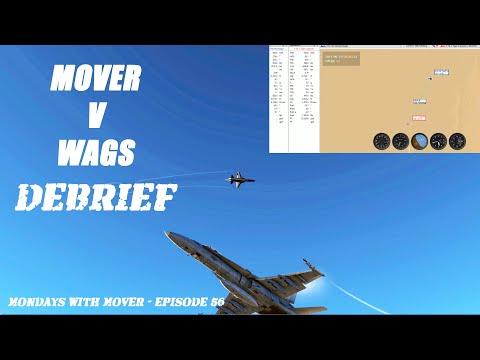 The Debrief! Fighter Pilot vs. Developer High Aspect BFM DCS Flight (F-5 vs F/A-18)