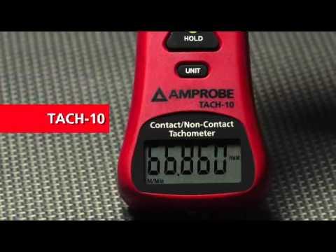 Tacómetro con y sin contacto TACH 10