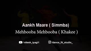 Aankh Marey Dance Choreographed by Nitesh Tyagi
