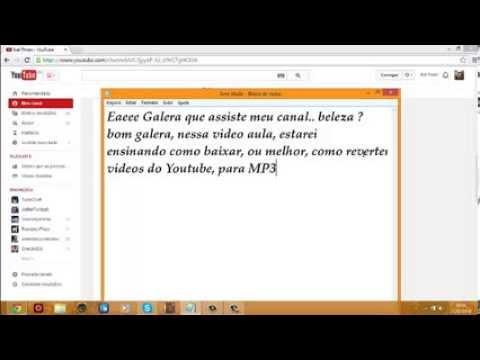 Como Converter Videos do Youtube para MP3