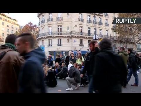Grève contre la réforme de l'éducation : syndicats, enseignants et étudiants réunis à Paris