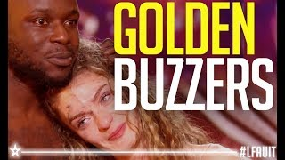 Watch Every GOLDEN BUZZERS On France's got talent 2018 !