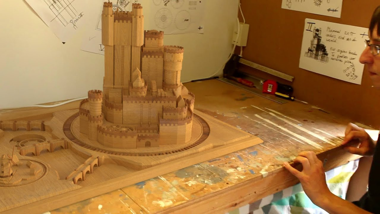 Real Extendable Castle Game Of Thrones Castle Blender Illusion