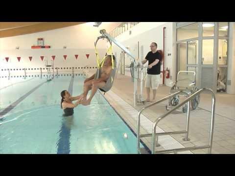 De verrijdbare zwembadlift voor in uw zwembad.