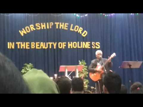 vci senior pastor JAY.S singing spiritual song