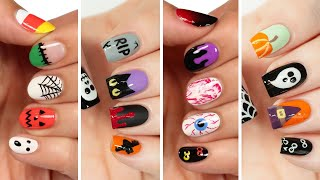 Cute Nail Art 2020 | Fun & Easy Halloween Nail Design Compilation!
