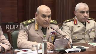 Russia: Shoigu pleased by Egypt's desire to equip army with Russian hardware