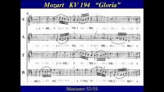 Soprano Mozart KV194 -2 Missa Brevis Gloria