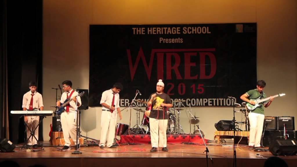 Delhi Public School, R K  Puram Competes at 'Wired' 2015