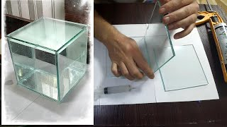 как сделать маленький аквариум своими руками