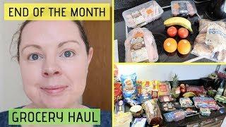 GROCERY HAUL ON A BUDGET || TESCO, LIDL & DEALZ FOOD SHOPPING HAUL IRELAND