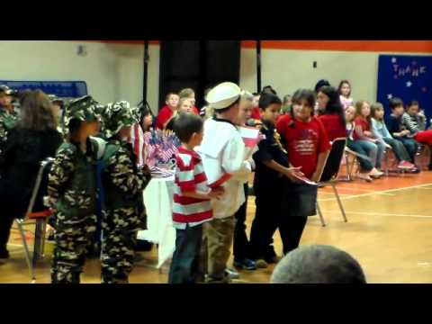 West Cheatham Elementary School Veteran's Day Program