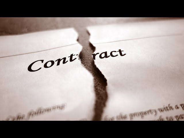 How To Back Out Of A Real Estate Contract In Parker Colorado