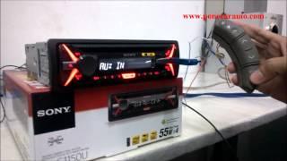 การต อกล องคอนโทรลพวงมาล ย sony cdx g1150u steering wheel control interface sony caraudio