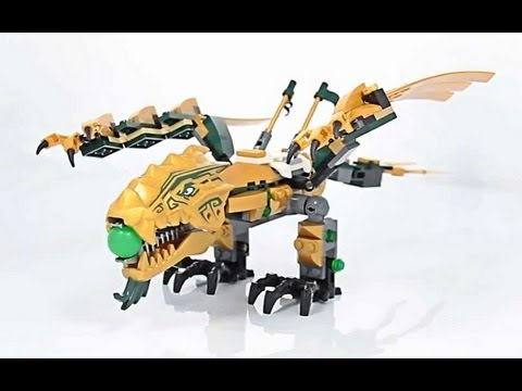 3d Demo The Golden Dragon Złoty Smok 70503 Lego Ninjago Www