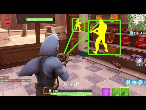 10 Minutes of Extreme Hacking In Fortnite