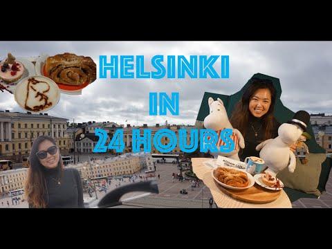 24 HOURS IN HELSINKI (*Solo Female Traveller*) -  Meet the Moomins at Moomin Cafe, Suemonlinna...