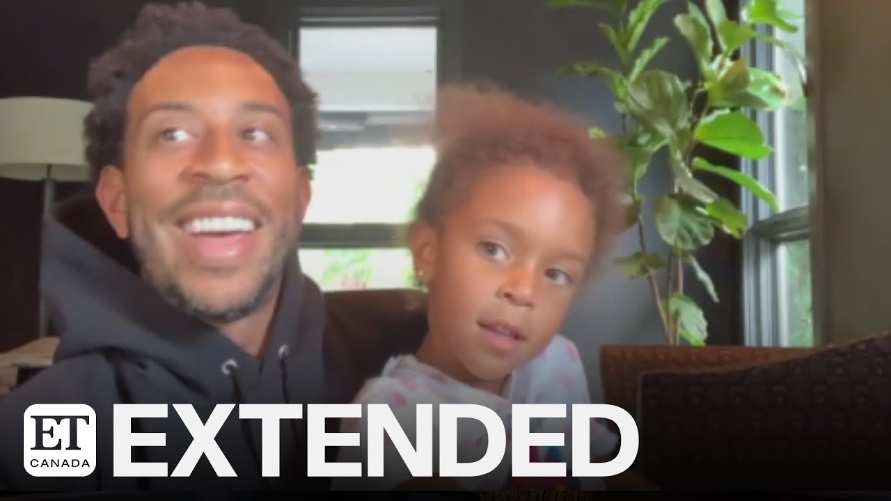 Ludacris' Adorable Daughter Cadence Crashes His Interview | EXTENDED