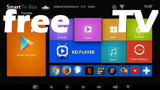 X96 Android Smart Tv Box & All The Free Tv apps that work best, H96, v88, mqx, t95n,