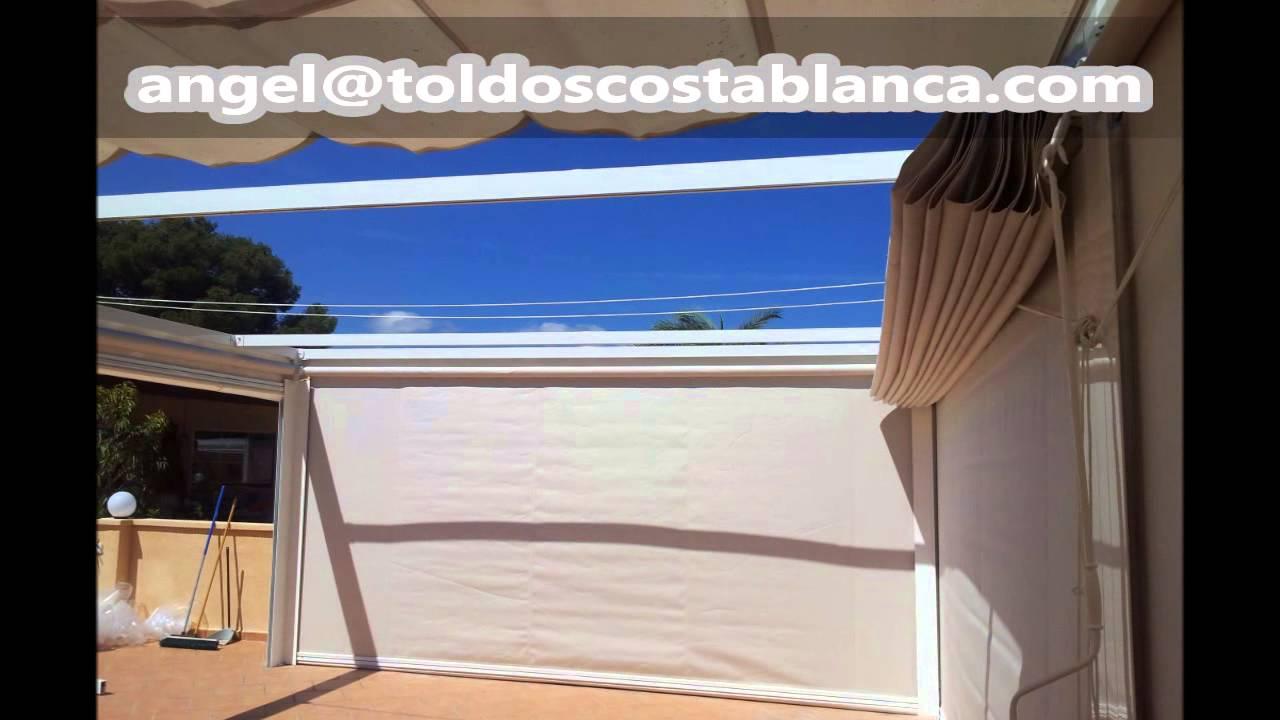 Toldos costa blanca endre palilleria youtube for Tela de toldo en leroy merlin