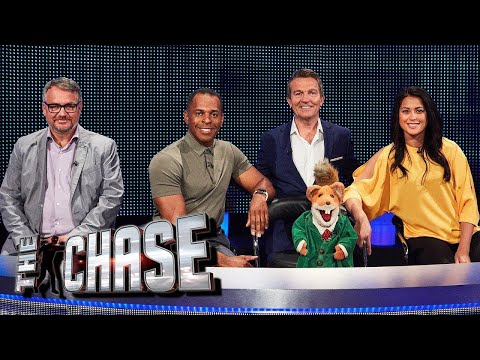 The Celebrity Chase ft. Basil Brush and Sam Quek | Behind The Scenes