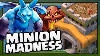 """MASS MINION MADNESS in """"Clash of Clans"""" - TH8 Trophy Push to Champions League Ep.7 [2018]"""
