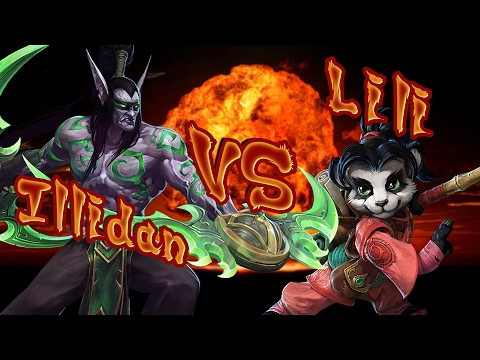 Illidan VS Lili