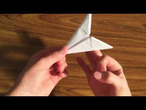 How To Make A Origami Paper ArrowHead Flicker