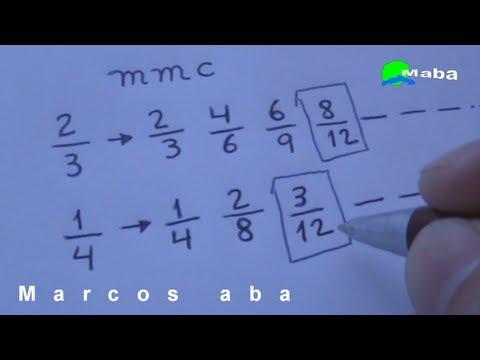 MMC - Mínimo Múltiplo Comum - Aula 03