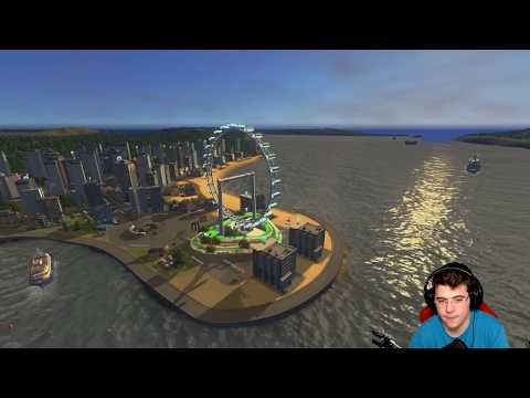 Cities: Skylines [#278] - Der neue Riesenrad Park ist fertig! | Mass Transit DLC