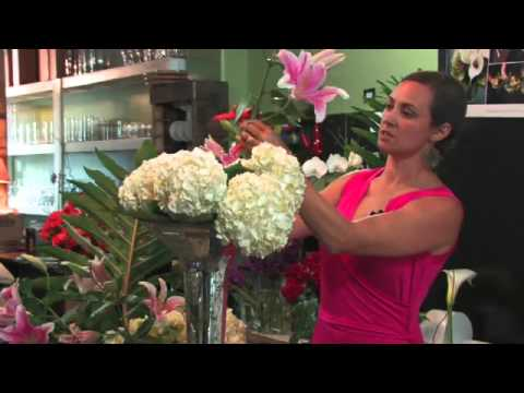Wedding Floral Arrangements How To Make A Tall Flower