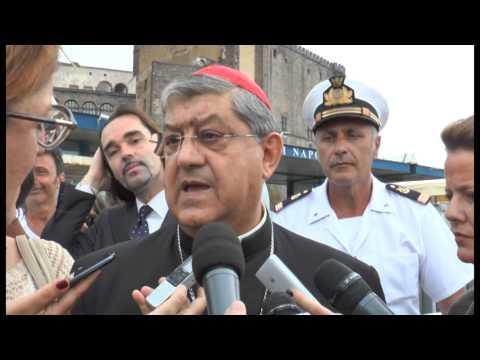Napoli - Morte Ciro Esposito, il commento del cardinale Sepe -live- (25.06.14)