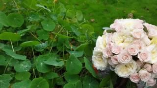 Свадебный букет из пионовидных и садовых роз ☆заказать в Симферополе☆
