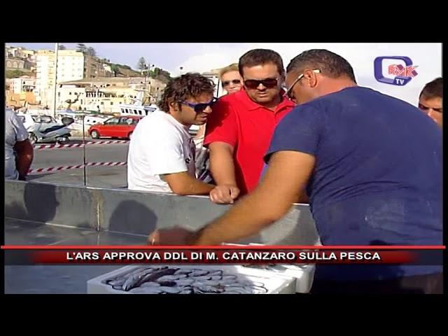 ARS APPROVA DDL DI CATANZARO SULLA PESCA
