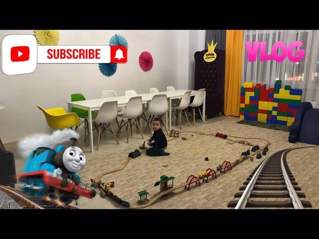 VLOG//Железная дорога//Играем в игровой/Kids Like Ludmila