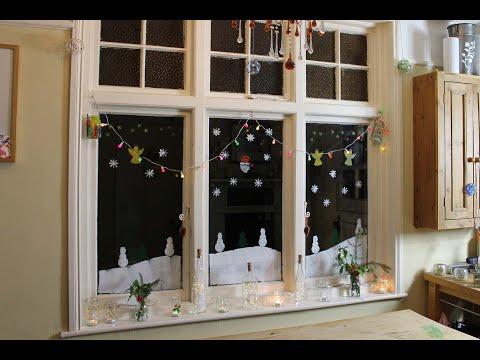 Thorndown Peelable Glass Paint Christmas Window