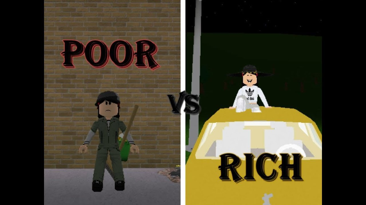 Poor Vs Rich Roblox Story Welcome To Bloxburg Youtube