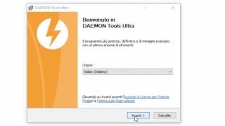 Come scaricare ed installare Daemon Tools ULTRA PC ITA