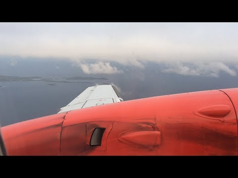 TRIPREPORT | FINAL Flybe/Loganair FLIGHT TO ABERDEEN | Saab 340 | Sumburgh to Aberdeen