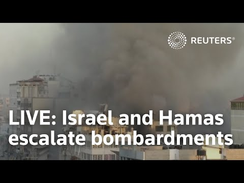 LIVE:  Israel and Hamas escalate bombardments