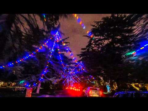 Christmas Tree Lane Fresno.Top 3 Christmas Lights Destinations In Fresno I Love Fresno
