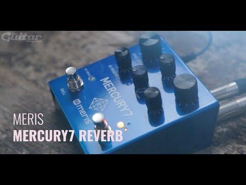 Meris Mercury7 Reverb pedal demo (ambient, post-rock)