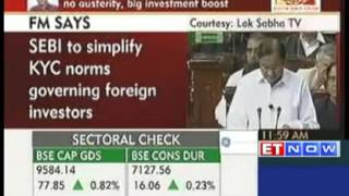 Budget 2013 Highlights : Simplified norms planned for foreign portfolio investors