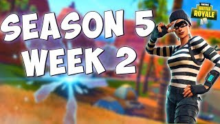 ALL WEEK 2 SEASON 5 CHALLENGES (Free Challenges & Battle Pass Challenges) Fortnite Battle Royale