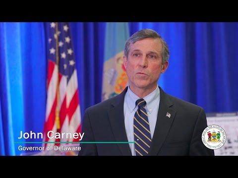 John Carney – Governor of Delaware