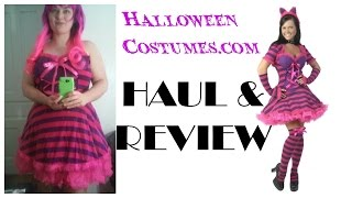 Plus Size Costume Haul and Halloweencostumes.com Review