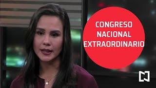 Morena acuerda Congreso Nacional Extraordinario