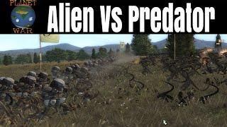 Alien Vs Predator! - Planetwar Total War Battles - Medieval 2 Total War mod