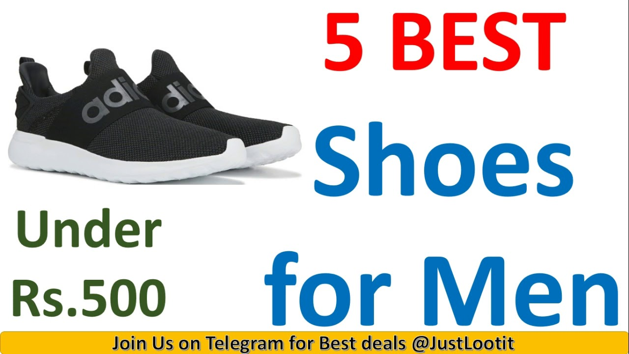 Top 5 Best Shoes for Men under Rs.500 in India on Amazon in 2020 | Best Online Deals